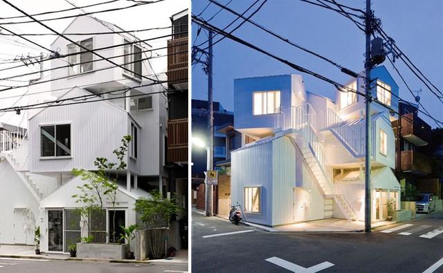 Căn hộ tại Tokyo này khiến người ta liên tưởng tới căn nhà búp bê xinh xắn, đáng yêu nhưng không kém phần hiện đại.