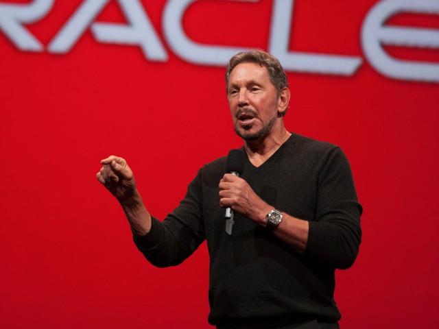 Nhà đồng sáng lập Oracle, Larry Ellison