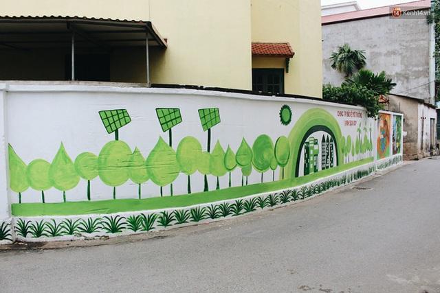 Đâu cần đến Quảng Nam mới có làng bích họa, ngay Hà Nội giờ cũng có con đường được vẽ đẹp mê ly - Ảnh 16.