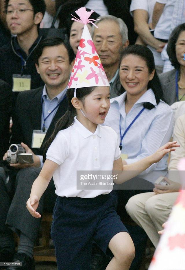 Màn biểu diễn nhảy tự tin của công chúa tại hội thao.