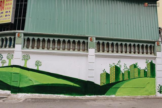 Đâu cần đến Quảng Nam mới có làng bích họa, ngay Hà Nội giờ cũng có con đường được vẽ đẹp mê ly - Ảnh 18.