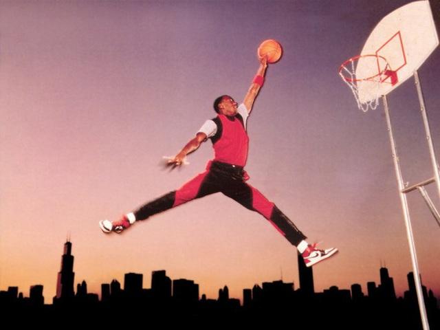 Logo Jumpman trên giày Jordan là ở đây ra chứ đâu