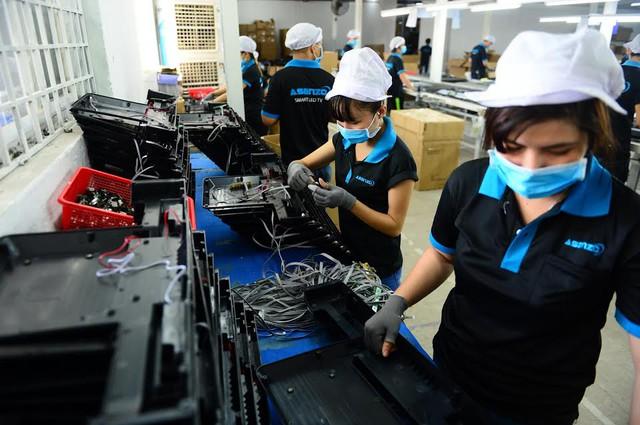 Ảnh: Quy trình sản xuất của Asanzo gọn gàng, hợp lý hơn, công nhân tiết giảm được 30%