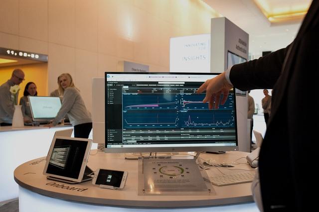Phần mềm giao dịch cho các Kiosk của JPMorgan Chase.