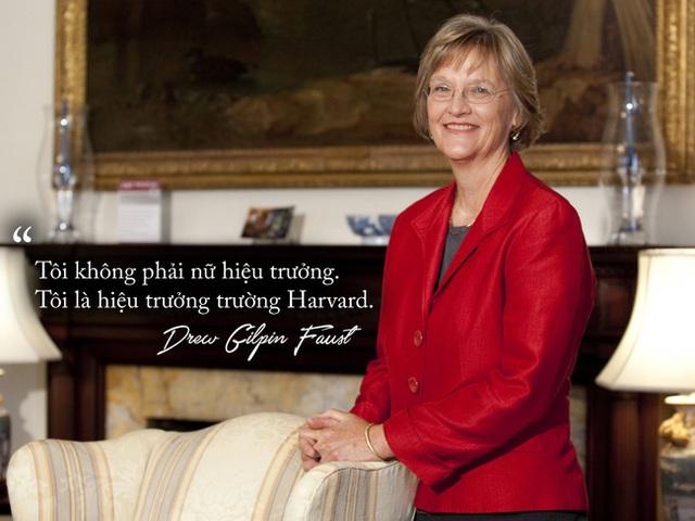 Câu nói nổi tiếng của bà Drew Gilpin Faust