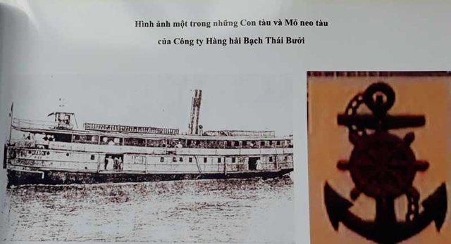 Một trong những con tàu của Bạch Thái Bưởi. Ảnh: Gia đình cung cấp