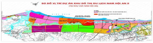 Quy hoạch chuỗi đô thị ven biển Quảng Nam (IPA Quảng Nam).