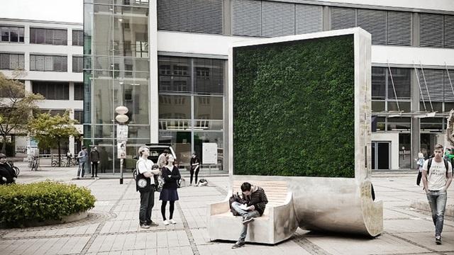 Bức tường rêu nhỏ tí này chính là giải pháp lọc khí mới, hiệu quả bằng gần 300 cây xanh lại di chuyển thoải mái không cần chặt hạ - Ảnh 3.