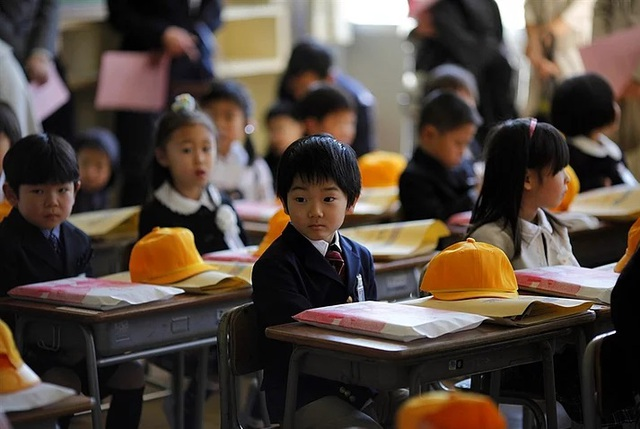 Điều thú vị là trước khi đến trường, hầu hết trẻ em đều được đánh giá là có định hướng logic tốt hơn