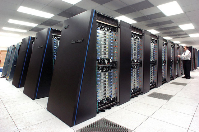 Siêu máy tính của IBM.