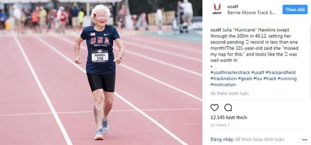5 bài học cuộc sống từ cụ bà 101 tuổi phá kỷ lục thế giới: chạy 100m chỉ mất 40.12 giây - Ảnh 3.