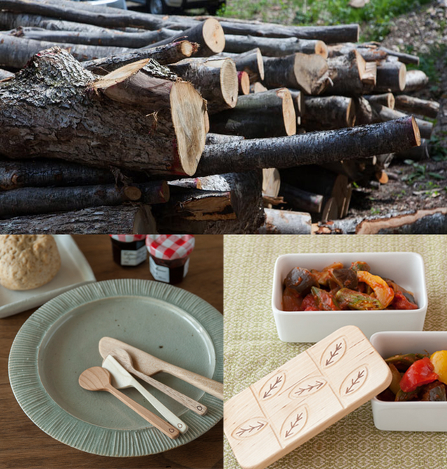 Ngay từ một cây gỗ nhỏ cũng có thể tạo ra cả một tác phẩm nghệ thuât.