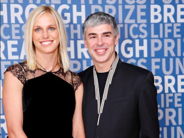 CEO Larry Page có mối tình đẹp với phu nhân là chuyên gia về khoa học.