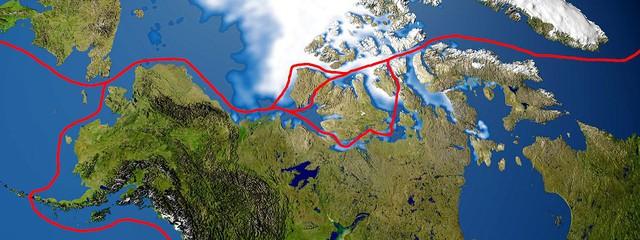 Cho đến năm 2009, những khối băng Bắc Cực lớn đã ngăn chặn việc vận chuyển trên toàn hàng lang trong suốt mhững mùa của năm.