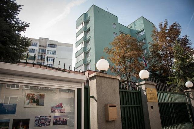 Đại sứ quán Triều Tiên tại Sofia, Bulgaria. Ảnh: New York Times