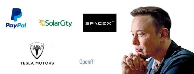 Elon Musk liên tục khởi nghiệp khi thành lập hàng loạt công ty mới