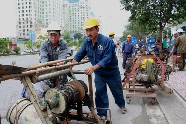 Quá trình thông cống không phát hiện vật cản giữa lòng cống, riêng các hố ga thu nước có rất nhiều rác