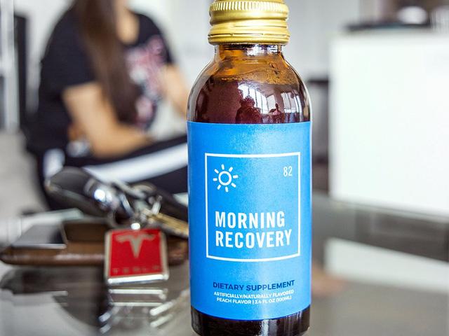 Sản phẩm đồ uống khắc phục tình trạng hangover