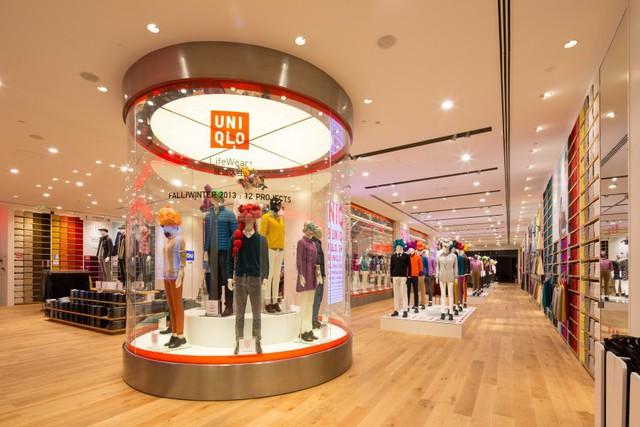 Một cửa hàng flagship của Uniqlo ở Thượng Hải