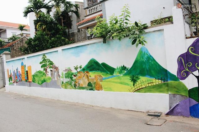 Đâu cần đến Quảng Nam mới có làng bích họa, ngay Hà Nội giờ cũng có con đường được vẽ đẹp mê ly - Ảnh 21.