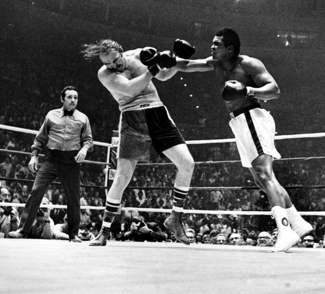 Mohammed Ali vs Chuck Wepner
