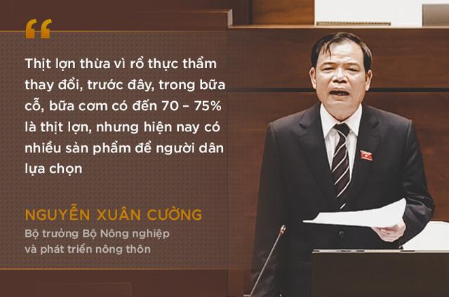Những phát ngôn ấn tượng nhất trong phiên chất vấn đầu tiên của Bộ trưởng Nguyễn Xuân Cường - Ảnh 4.