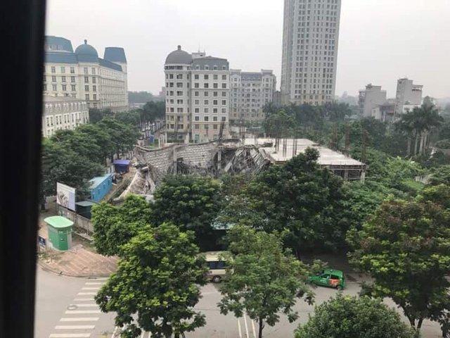 Hà Nội: Trường Mầm non đổ sập trong đêm - Ảnh 1.