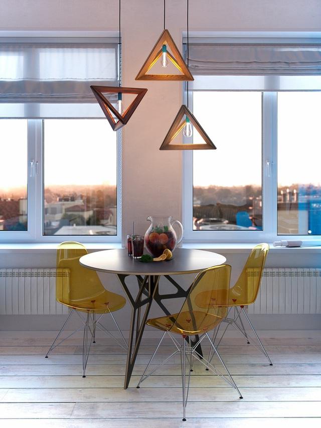 Ấn tượng với thiết kế của căn hộ vỏn vẹn 30m² có những gam màu trang trí vô cùng bắt mắt - Ảnh 4.