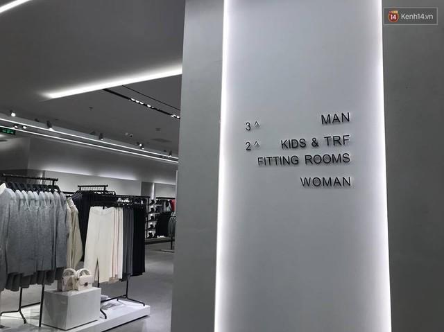 HOT: Tận mắt ngắm trọn 3 tầng của store Zara Hà Nội, to và sáng nhất phố Bà Triệu - Ảnh 4.
