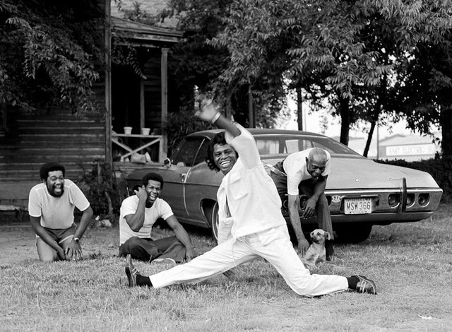 James Brown, nhảy break dance tại Augusta, Georgia, năm 1979.