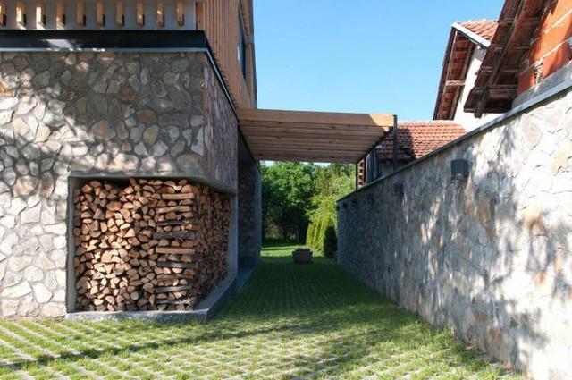 Cải tạo nhà cấp 4 cũ kĩ, hoang tàn thành ngôi nhà đẹp bình yên và thơ mộng - Ảnh 4.