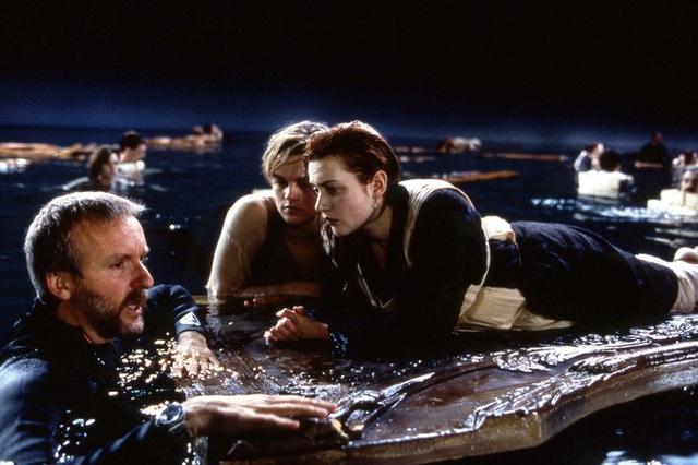 Cảnh này được quay trong bể nước lớn, có độ sâu gần 1m