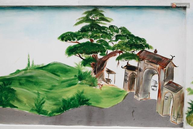 Đâu cần đến Quảng Nam mới có làng bích họa, ngay Hà Nội giờ cũng có con đường được vẽ đẹp mê ly - Ảnh 5.