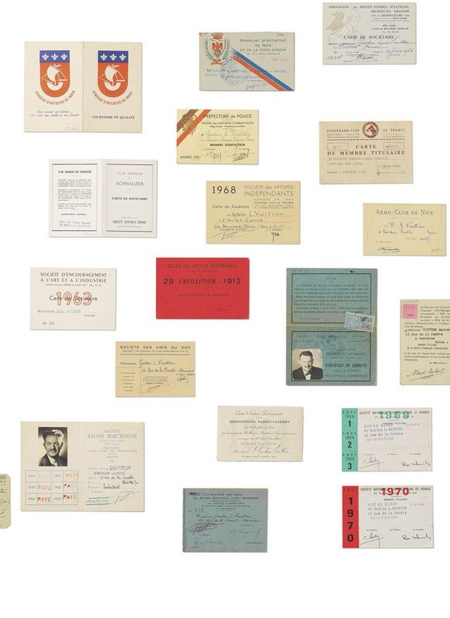 Những chiếc thẻ thành viên của Vuitton giai đoạn 1913-1970
