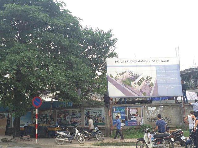 Hà Nội: Trường Mầm non đổ sập trong đêm - Ảnh 4.