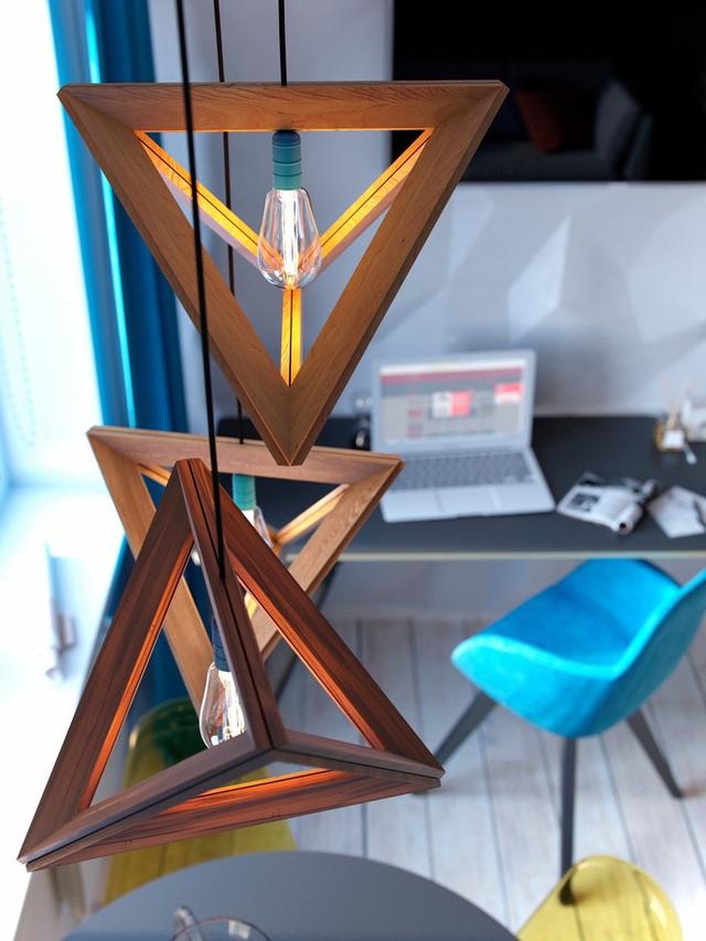 Ấn tượng với thiết kế của căn hộ vỏn vẹn 30m² có những gam màu trang trí vô cùng bắt mắt - Ảnh 5.