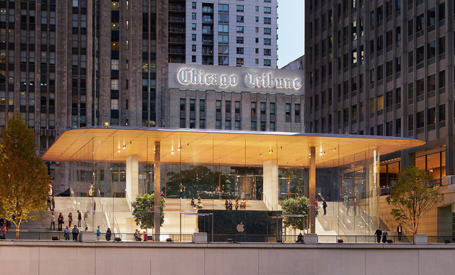 Thiết kế mới ở Chicago với không gian rộng rãi