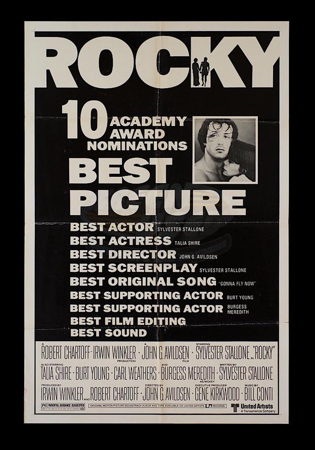 Danh sách đề cử dài dằng dặc đã nói lên sự thành công của Rocky thời bấy giờ
