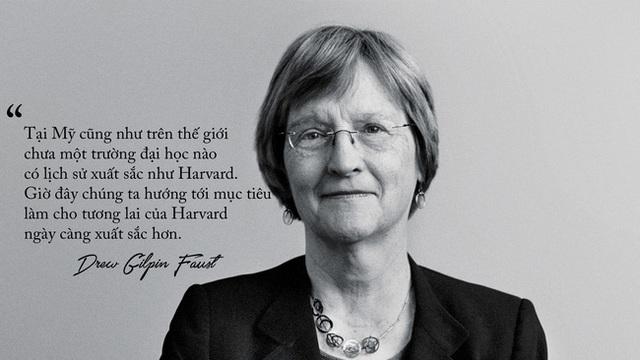 Harvard và kỷ nguyên nữ quyền dưới sự lãnh đạo của bà Drew Gilpin Faust.