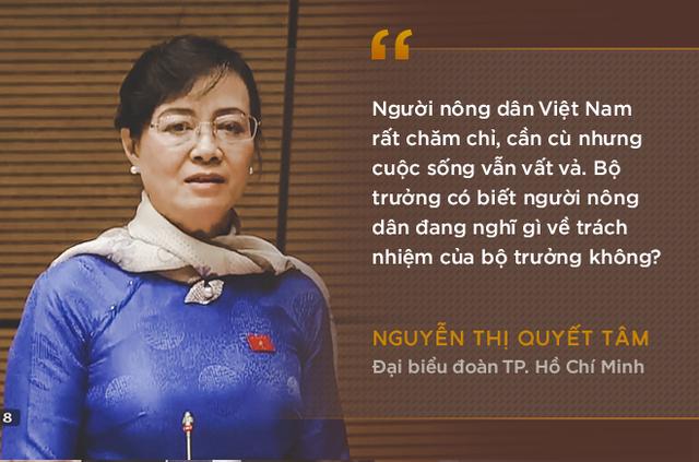 Những phát ngôn ấn tượng nhất trong phiên chất vấn đầu tiên của Bộ trưởng Nguyễn Xuân Cường - Ảnh 6.