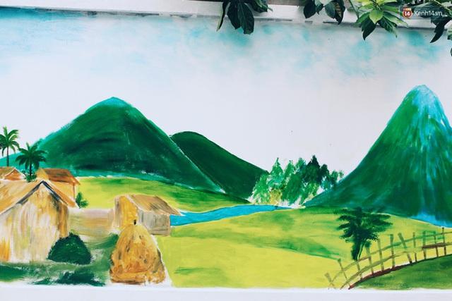 Đâu cần đến Quảng Nam mới có làng bích họa, ngay Hà Nội giờ cũng có con đường được vẽ đẹp mê ly - Ảnh 6.