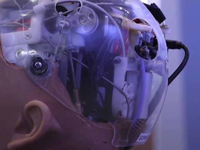 """""""Sophia là robot mới và tiên tiến nhất của Hanson Robotics các trang web công bố."""
