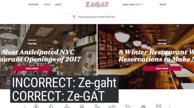 Người ta hay đọc là Ze-gaht, nhưng đúng là Ze-GAT.
