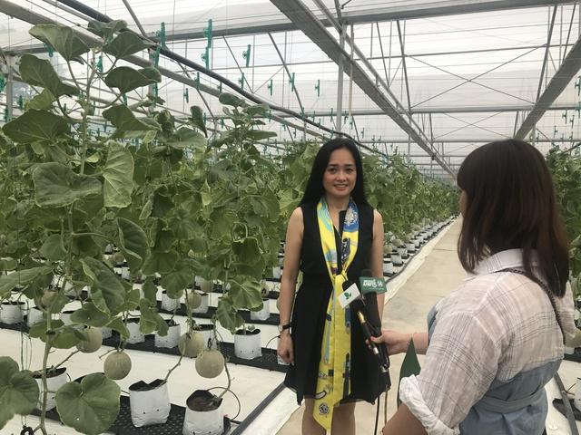 Chủ tịch PAN Farm bà Nguyễn Thị Trà My