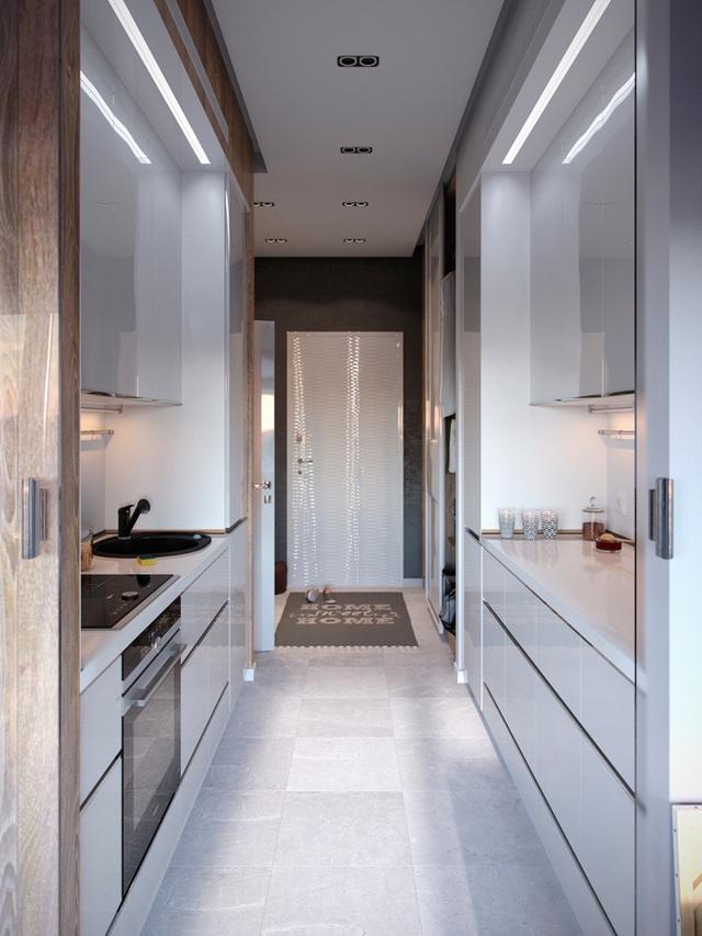 Ấn tượng với thiết kế của căn hộ vỏn vẹn 30m² có những gam màu trang trí vô cùng bắt mắt - Ảnh 7.