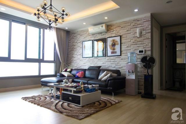 Căn hộ 83m² thoáng mát và ấn tượng với chi phí thi công 100 triệu đồng ở Hà Nội - Ảnh 7.