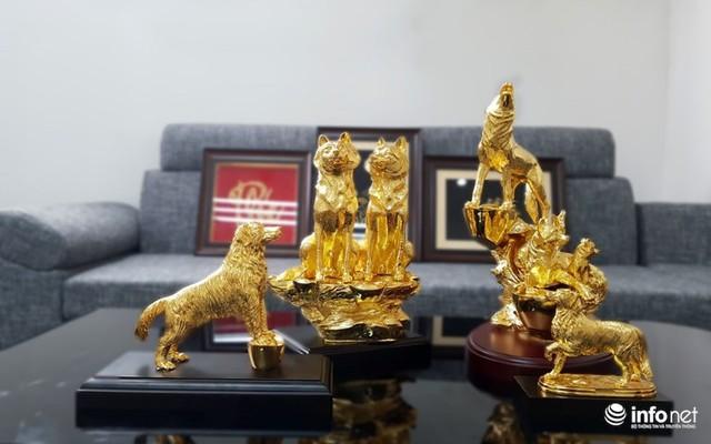 Đại gia chi chục triệu sắm Linh khuyển mạ vàng đón Tết Mậu Tuất 2018 - Ảnh 7.