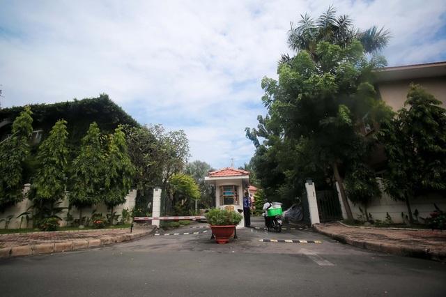 Khu villa khang trang hiện đã có nhiều cư dân dọn vào ở. Ảnh: Hoàng Triều