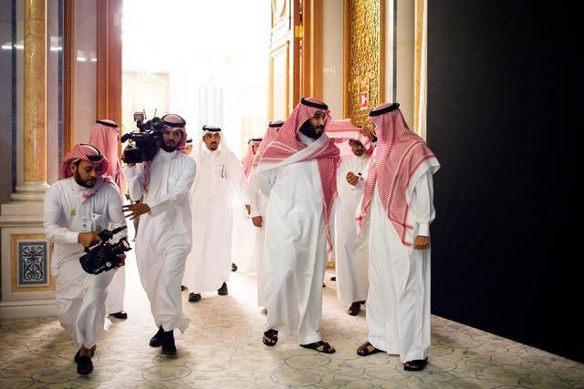 Thái tử Mohammed bin Salman, 32 tuổi với quyền lực đang dần được củng cố trong tay.