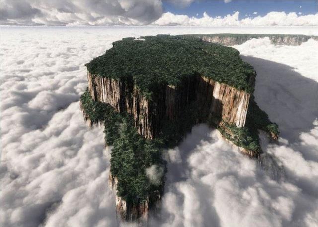 Ngọn núi cưỡi mây Mount Roraima ở Venezuela sở hữu một vẻ đẹp thần tiên mà không ai có thể cưỡng nổi.